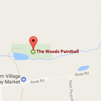 The Woods Paintball Range